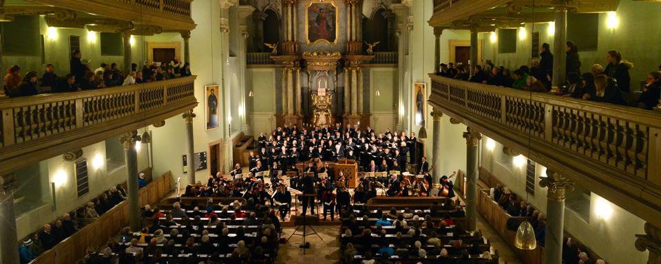 Das Weihnachtsoratorium von Johann Sebastian Bach in der Neustädter Kirche.Foto: Klaus-Dieter Schreiter